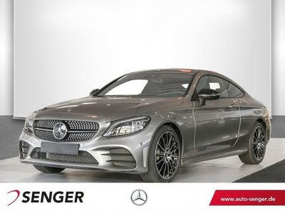 gebraucht Mercedes C300 Coupé AMG-Line Night Multibeam Sport-Abgas