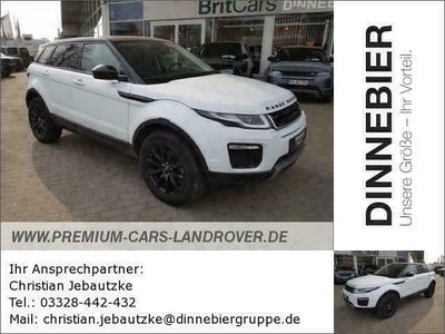 gebraucht Land Rover Range Rover evoque SE Start/Stopp 2.0 Si4 Gebrauchtwagen, bei Autohaus Dinnebier GmbH