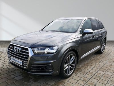 "gebraucht Audi SQ7 21"" Matrix Nachtsicht ACC virtual head-up Leder"
