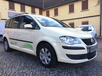 gebraucht VW Touran 2.0 EcoFuel Trendline Leder Klima SHZ