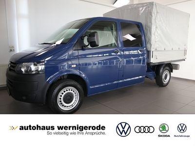 gebraucht VW Transporter T6Doppelkabine, Klima, AHK -