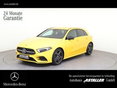 gebraucht Mercedes A250 AMG+Night+Kam+MBUX+Multibe+Navi+Volldigit.