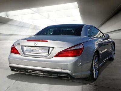 gebraucht Mercedes SL500 AMG-LINE COMAND TV PANORAMA K-GO ABC