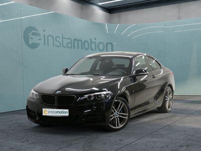 gebraucht BMW M240 M240iCoupé LED WLAN Navi Prof. Tempomat Shz
