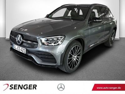 gebraucht Mercedes GLC300 4M AMG Line Panorama AHK Spur-Paket LED