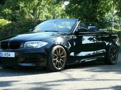 gebraucht BMW 135 Cabriolet i M Paket, Automatik, Navi, Vollleder, Carbon