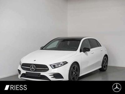 gebraucht Mercedes A180 d AMG Pano Night Ambi Pr Navi Spur LED DAB