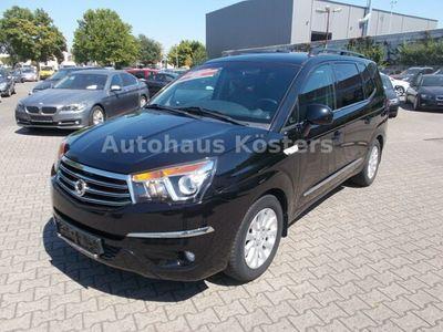 gebraucht Ssangyong Rodius Sapphire 2Wd Autom., Leder, 7 Sitze, AHK
