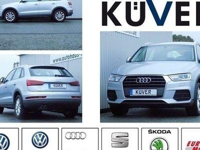 gebraucht Audi Q3 2,0 TDI S-Tronic Navi Xenon Tempomat SHZ 17