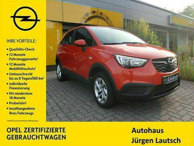 gebraucht Opel Crossland X 1.2 Edition Klima/180°Kamera/Navi5.0