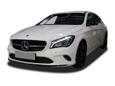 "gebraucht Mercedes CLA200 CLA 200 SB Urban AMG 18"" Night LED Navi PTS"
