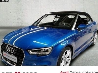 gebraucht Audi A3 Cabriolet Sport Cabrio 35 TFSI S line S-Sportsitze*DAB*Navi*Klima*Sound-System
