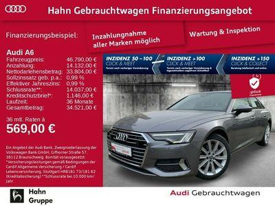 gebraucht Audi A6 Limousine 50TDI qua. Navi LED AHK CAM ACC Pan