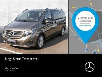 gebraucht Mercedes V220 lang BT Edition Sportpak Burmester Kamera