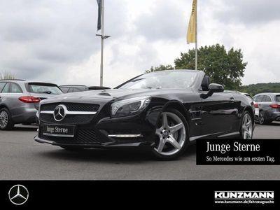 gebraucht Mercedes SL500 AMG Nachtsicht Distronic ActiveBodyCon.
