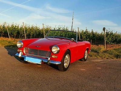 gebraucht Austin Healey Sprite MK2 rot toller Zustand TÜV neu MG Midget als Cabrio/Roadster in Bobenheim-Roxheim