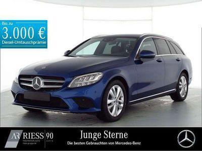 gebraucht Mercedes C180 T Avantgarde+LED+Kamera+Neuwertig+SHZ