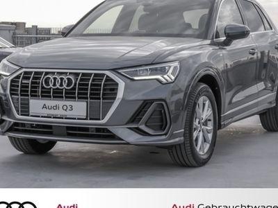 gebraucht Audi Q3 S line 45 TFSI qu. S tronic Allrad LED-Scheinw.