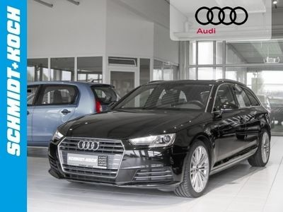 gebraucht Audi A4 Avant 2.0 TDi sport AHK schwenkb. Navi Sitzhzg.