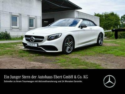 gebraucht Mercedes S63 AMG AMG 4M Cabrio DRIVER`S PACKAGE+AIRMATIC