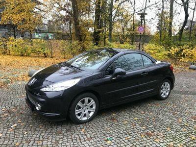 gebraucht Peugeot 207 CC Sport 1.6 16V 120 Klima PDC TOP ZUSTAND!