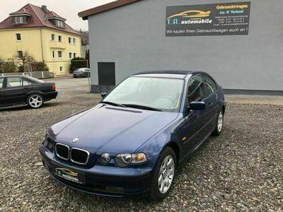 gebraucht BMW 318 Compact Baureihe 3 Compact ti Automatik