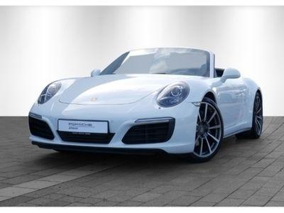 gebraucht Porsche 991 911 C4 Cabrio, 20'',Rückfahrkamera,Sportabgas
