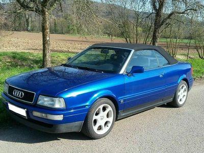 gebraucht Audi Cabriolet 2,3 5-Zylinder kawasaki-blau