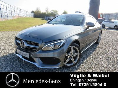 gebraucht Mercedes C300 Coupe AMG Line Head-Up Airmatic AHK Keyl.
