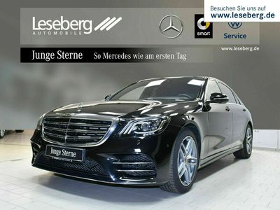 gebraucht Mercedes S400 d 4M lang AMG Line/Pano/360°/Standheizung SHD
