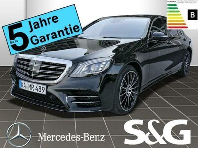 gebraucht Mercedes S400 d Lang 4MATIC AMG-Line COMAND/LED/360°/Pan