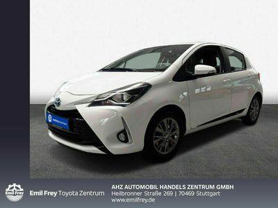 gebraucht Toyota Yaris Hybrid 1.5 VVT-i Team D/Klimaauto./RÃŒckfahrk.