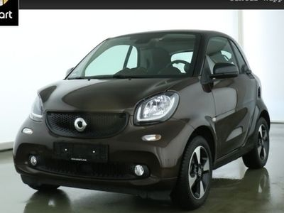 gebraucht Smart ForTwo Coupé 52kW perfect DCT cool&Audio SHZ Pano LED
