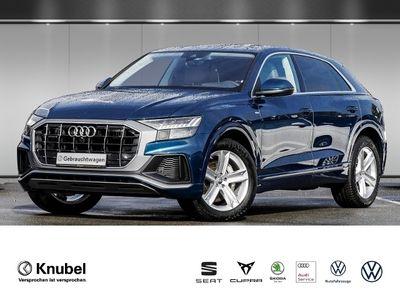 gebraucht Audi Q8 50 TDI qu. S line Nav+ Pano AHK Allradl. HDMatrix Standh. Tour