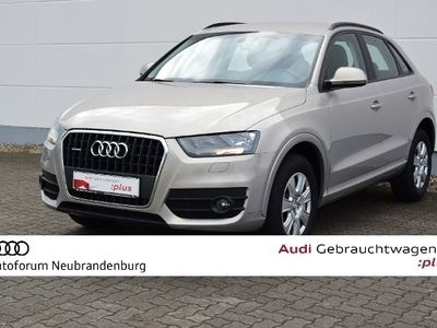 gebraucht Audi Q3 2.0 TFSI qu-170 PS-6-G-GRA-Klima-Sitzhzg.