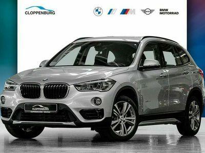 gebraucht BMW X1 xDrive20d Sport Line LED Navi Kamera SHZ PDC