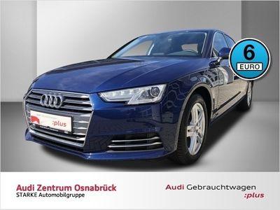 gebraucht Audi A4 Limousine Sport 2.0 TDI S-tronic Navi APS-Plus SHZ GRA TL