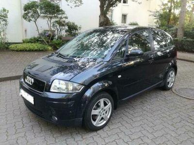 gebraucht Audi A2 1.4 Benziner cobaltblau