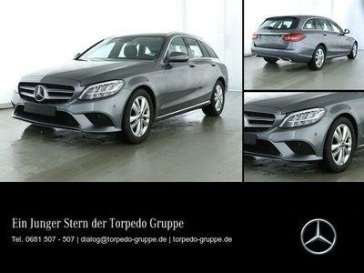 gebraucht Mercedes C220 d T AVANTGARDE LED+AHK+KAMERA+KEYLESS+PTS+