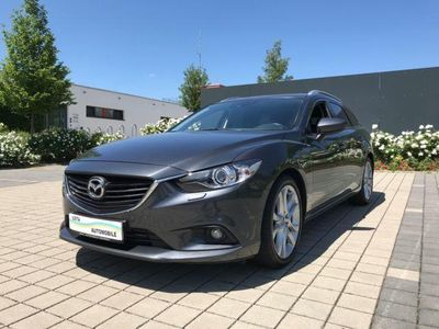 käytetty Mazda 6 Kombi Sports-Line,Navi,Bose,KameraOrig31.000KM