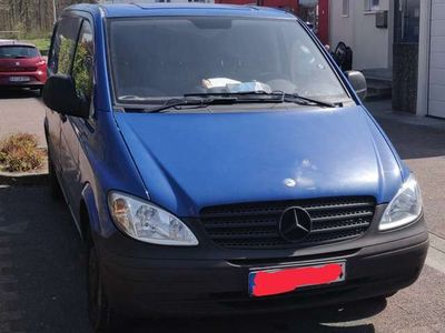gebraucht Mercedes Vito 111 CDI Kompakt Mixto