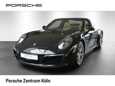 gebraucht Porsche 911 Targa 4S 991SpAbgas AbstRegel SpChro R-Kamera BiColorLeder