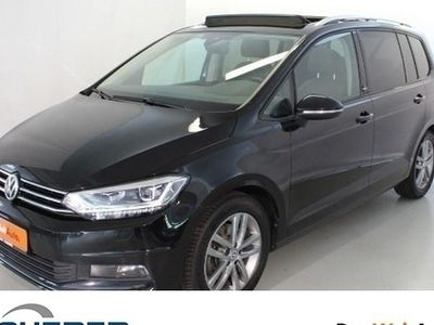 gebraucht VW Touran 1.4TSI SOUND ACC LED Navi Pano Telefon Sitzhzg