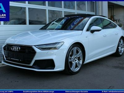 gebraucht Audi A7 3x S Line Pano/Dyn-All/Matrix/Softcl/Luft/360