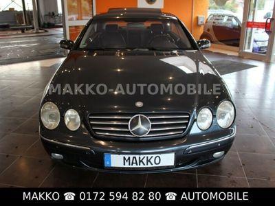 gebraucht Mercedes 500 CL-CoupeSEHRGEPFLEGT# VOLL#SCHECKLÜCKENLOS#