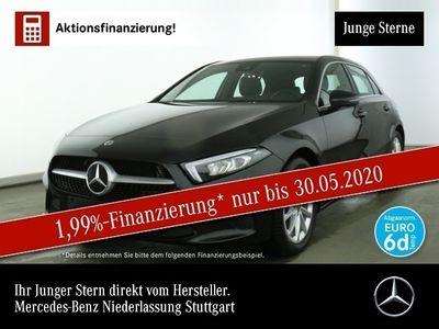 gebraucht Mercedes A200 Navi Premium LED Spurhalt-Ass Totwinkel PTS