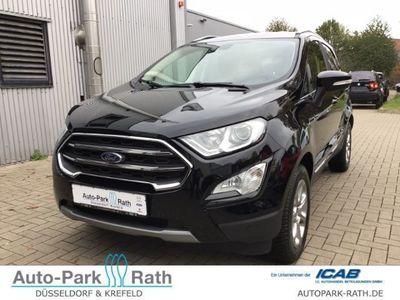 gebraucht Ford Ecosport Titanium 1.0l Ecoboost, Navi, Winter-Paket, Ganzjahresreifen