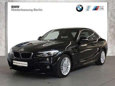 gebraucht BMW 230 i Coupé EU6 Aut. M Sport Leder LED Navi PDC
