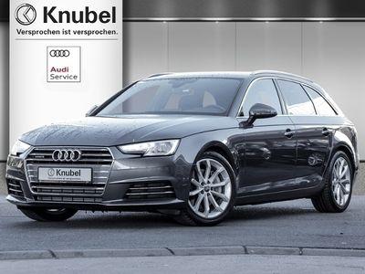 gebraucht Audi A4 Avant Sport 3.0 TDI qu. S line/VC/AHK/B&O/Navi+/Xenon/Keyless