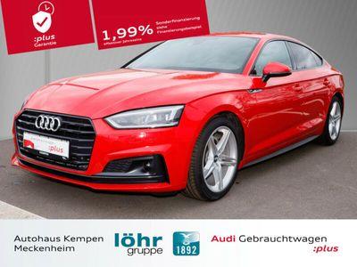 gebraucht Audi A5 Sportback 2.0 TDI S tron. S-Line LED Navi+ VC